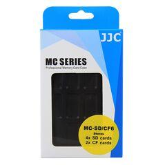 JJC MC-SD/CF6 cutie rigida pentru carduri de memorie