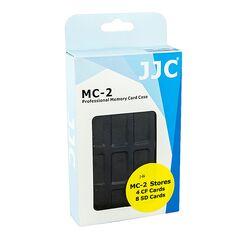 JJC MC-2 Cutie rigida pentru carduri de memorie