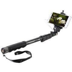 Yunteng YT-1188 selfie-stick cu suport pt telefon si declansator 40-115cm