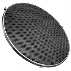 Reflector Beauty Dish argintiu cu grid 70cm - montura Bowens