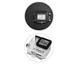 Dome port 6 inch cu parasolar compatibil GoPro Hero 5 Black GoPro Hero 6 GoPro Hero 7 GP376B