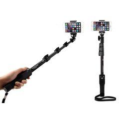Yunteng YT-1288 selfie-stick cu suport pt telefon si telecomanda 40-120cm