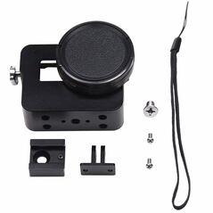 Carcasa / cadru aluminiu cu UV si capac compatibila GoPro Hero 5 Black GoPro Hero 6 Black GP354b