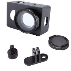 Carcasa Aluminiu cu filtru UV si capac pt Xiaomi Yi GP271A