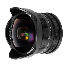 Obiectiv manual 7Artisans 7.5mm F2.8 Fisheye pentru Olympus si Panasonic MFT M4/3-Mount
