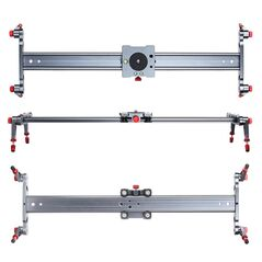 Slider din aluminiu 100cm pentru camere video si DSLR