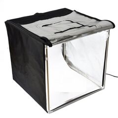 Mini studio foto LED 60cm Godox triple-light 60W