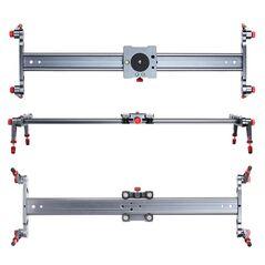 Slider din aluminiu 120cm pentru camere video si DSLR