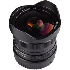Obiectiv manual 7Artisans 7.5mm F2.8 Fisheye pentru Fuji FX Mount