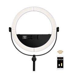 KIT lumina continua Lampa Yongnuo YN508S+ 2x Acumulatori DSTE NP F+ Incarcator+ Stativ