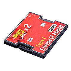 Adaptor dual de la card TF si micro SD SDHC SDXC la compact flash CF tip I