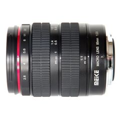 Obiectiv Telefoto manual Meike 85mm F2.8 Macro pentru Sony E-mount Full Frame