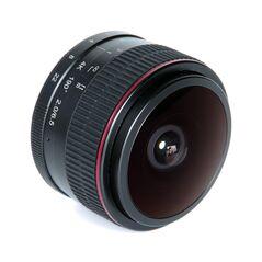 Obiectiv manual Meike 6.5mm F2.0  Fisheye pentru Nikon 1 mount