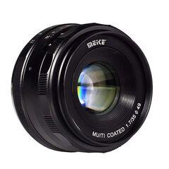 Obiectiv manual Meike 35mm F1.7 pentru Nikon 1