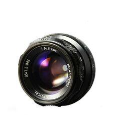 Obiectiv manual 7Artisans 35mm F1.2 negru pentru FujiFilm FX-mount