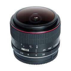 Obiectiv manual Meike 6.5mm F2.0  Fisheye pentru Olympus si Panasonic MFT M4/3-mount