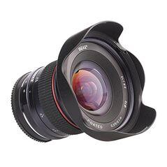 Obiectiv manual Meike 12mm F2.8 pentru Olympus si Panasonic MFT M4/3-mount