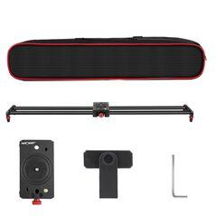 Slider K&F Concept din fibra de carbon 60cm pentru camere video si DSLR KF36.003