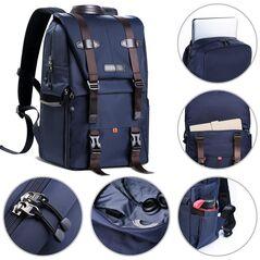 K&F Concept  rucsac foto waterproof pentru calatorii KF13.087 + kit de curatare