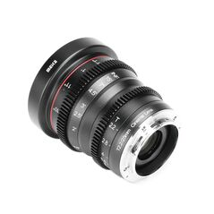 Obiectiv manual Meike 25mm T2.2 pentru FujiFilm FX-mount