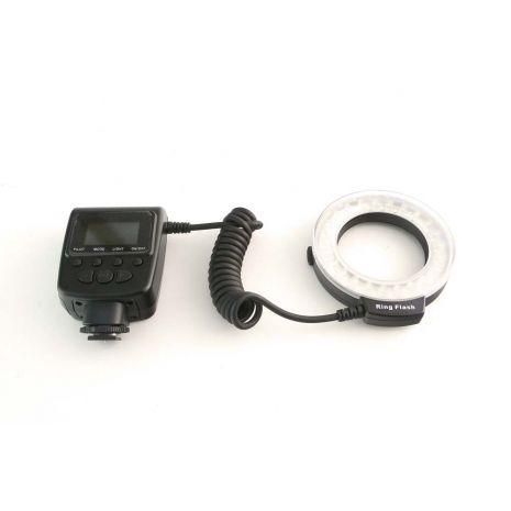 Blitz macro Travor RF-550E 48 LED-uri si functie de lumina continua pentru Sony