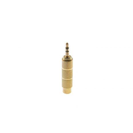 Adaptor mufa jack 6.35mm mama - 3.5mm tata Gold plated