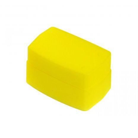 JJC FC-26J Bounce Diffuser galben (warm-up) pentru SONY HVL-F42AM Minolta Pentax