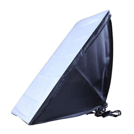 Softbox 40x60cm cu fasung E27 incorporat