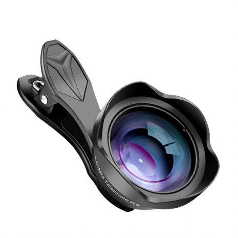 Lentile conversie Apexel APL-65mm Telefoto Pro 4K pentru smartphone