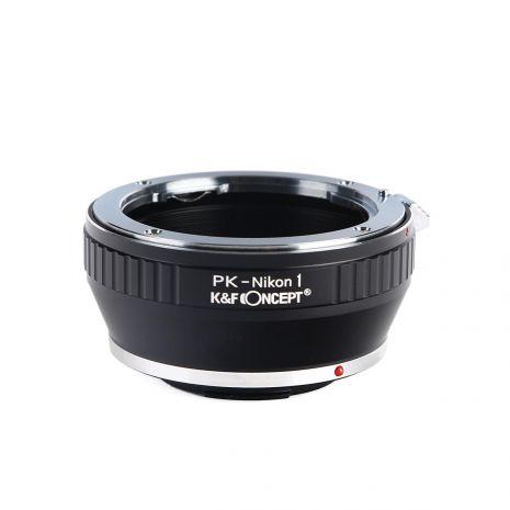 K&F Concept PK-Nikon1 adaptor montura de la Pentax K la Nikon1 KF06.118