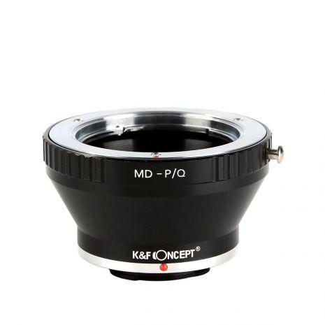 K&F Concept MD-P/Q adaptor montura de la Minolta MD la Pentax Q-Mount KF06.281