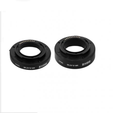 Tuburi de extensie macro Meike MK-S-AF3B cu Auto focus pentru Sony NEX E-mount