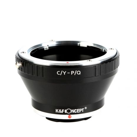 K&F Concept C/Y-P/Q adaptor montura de la Contax Yashica la Pentax Q-Mount KF06.260