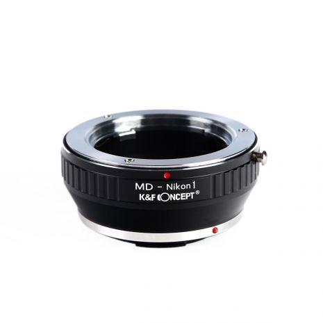 K&F Concept MD-Nikon1 adaptor montura de la Minolta MD MC la Nikon1 KF06.117
