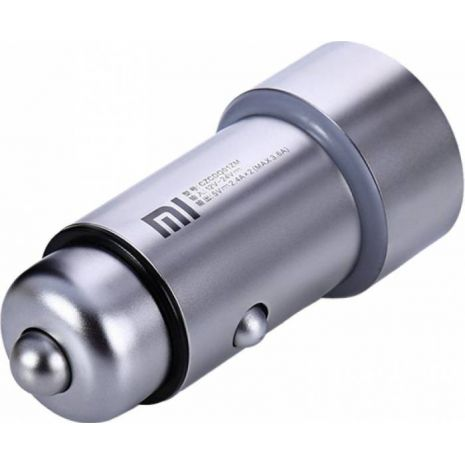 Incarcator Auto Xiaomi Mi Car Dual USB Silver-GDS4048GL