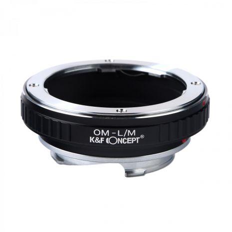 K&F Concept OM-L/M adaptor montura de la Olympus OM la Leica M-Mount KF06.167