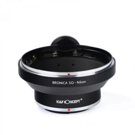 K&F Concept Bronica SQ-Nikon adaptor montura de la Bronica SQ la Nikon cu adaptor pentru trepied KF06.135