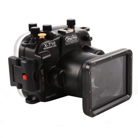 Carcasa subacvatica waterproof Meikon pentru FujiFilm X-T10 X-T20 cu obiectiv 16-50mm