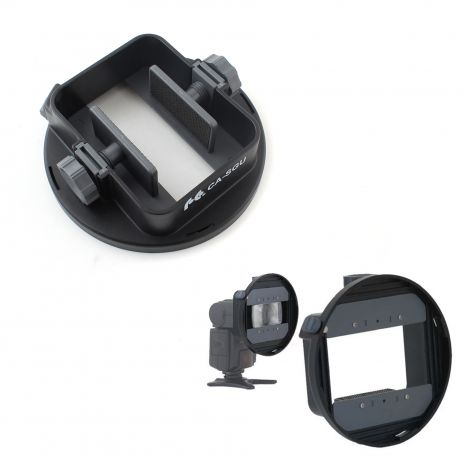Mini softbox pentru blitz pe patina cu adaptor universal