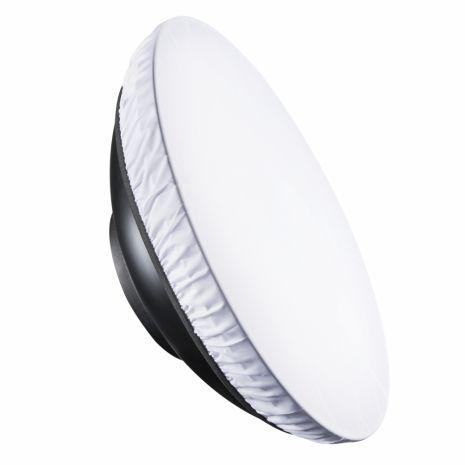 Reflector Beauty Dish argintiu cu grid 40cm - montura Bowens