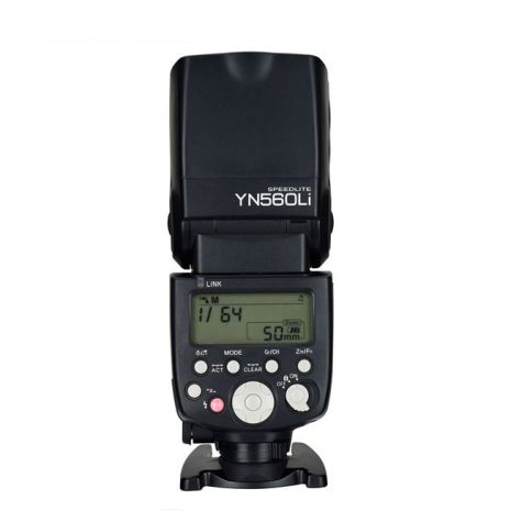 Kit Yongnuo YN560Li Blitz cu transceiver functie master / slave, 2x baterii 18650 Li-ion si incarcator