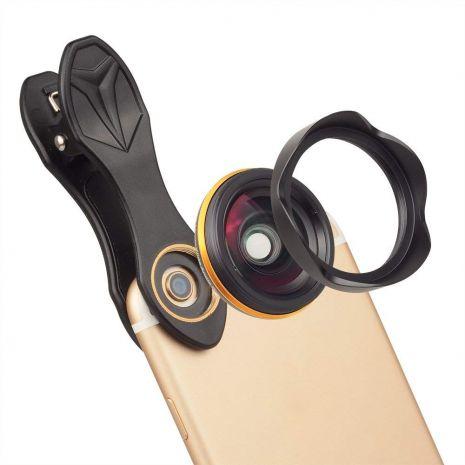 Lentile conversie Apexel APL-15mm  ultra wide angle pentru smartphone