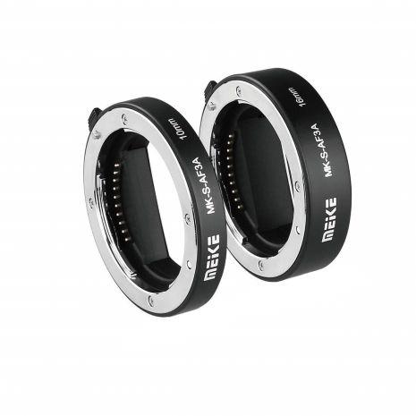 Tuburi de extensie macro Meike MK-S-AF3A cu Auto focus pentru Sony NEX E-mount