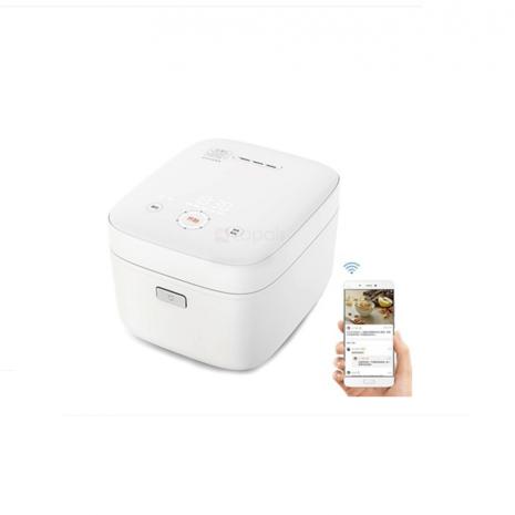 Aparat de Gatit Orez Xiaomi Mi cu inductie, 1100W, 3 L, Wi-Fi, White- ZHF4009GL