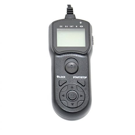 JJC TM-F2 Telecomanda cu temporizator replace RM-SPR1 pentru Sony A7R III A9 A6500 HX400 RX100III RX100M6