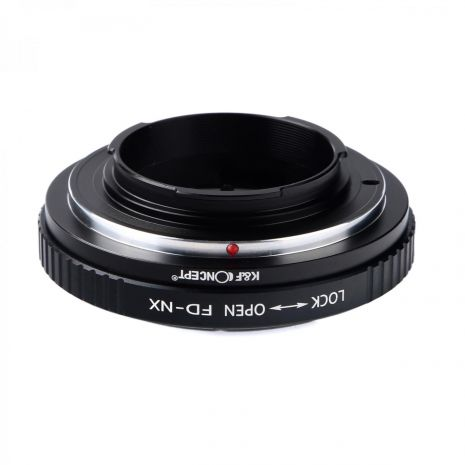 K&F Concept FD-NX adaptor montura de la Canon FD la Samsung NX-Mount KF06.180
