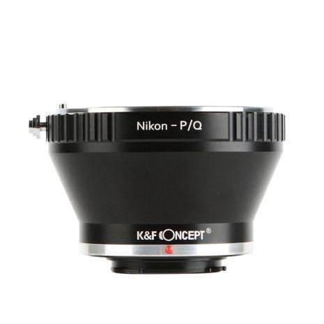 K&F Concept Nikon-P/Q adaptor montura de la Nikon F la Pentax Q-Mount KF06.287