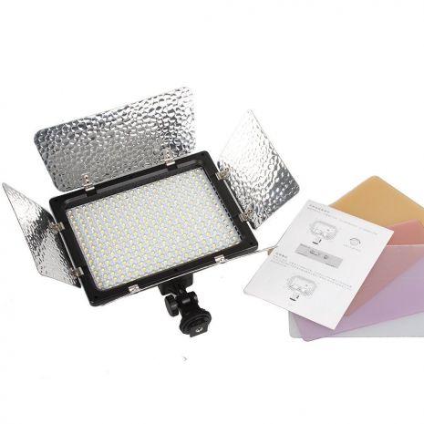 Lampa foto-video Wansen W300 cu 300 LED-uri si temperatura de culoare reglabila