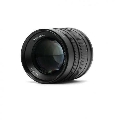 Obiectiv manual 7Artisans 55mm F1.4 negru pentru FujiFilm FX-mount X-Pro2