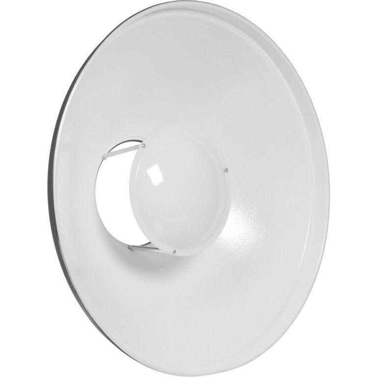 Reflector Beauty Dish alb 42cm - montura Bowens